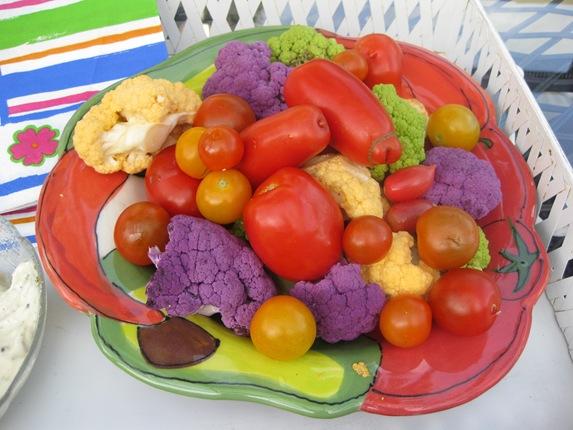 August 15 to 20 2008 Garden Pizza Sorbet Food 051