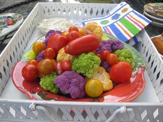 August 15 to 20 2008 Garden Pizza Sorbet Food 052