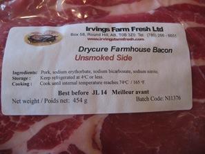Irving's Bacon Quesadillas 001